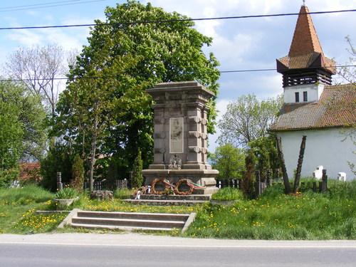 Monumentul lui Gabor Aron - Eresteghin